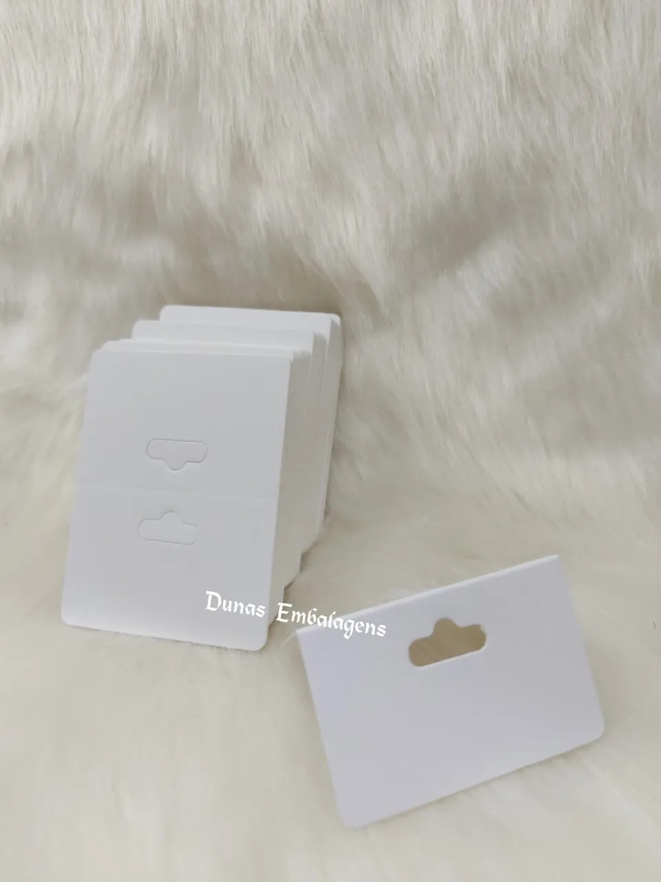 Cartela D14 Branca 6x8 pacote com 100 unidades (Solapa)
