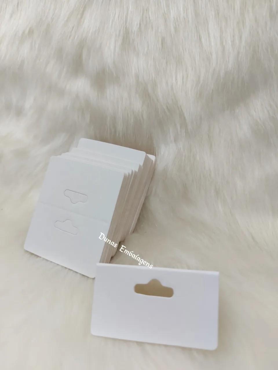 Cartela D15 Branca 5x6 pacote com 100 unidades