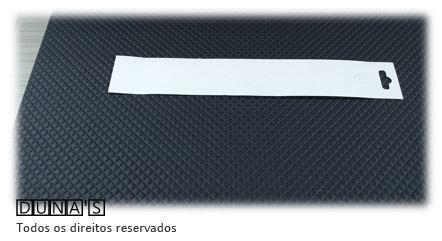 Cartela D16 Branca 3.5x22  pacote com 100 unidades (para pulseira)