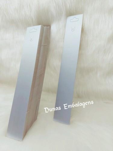 Cartela D16 Prata 3.5x22  pacote com 1000 unidades