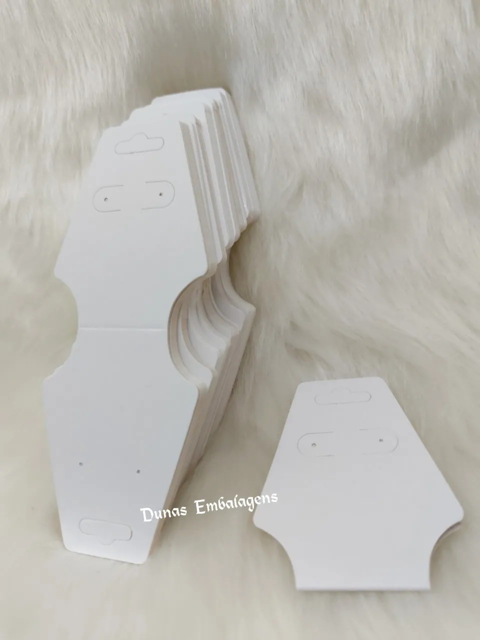 Cartela D19 Branca com 100 Unidades