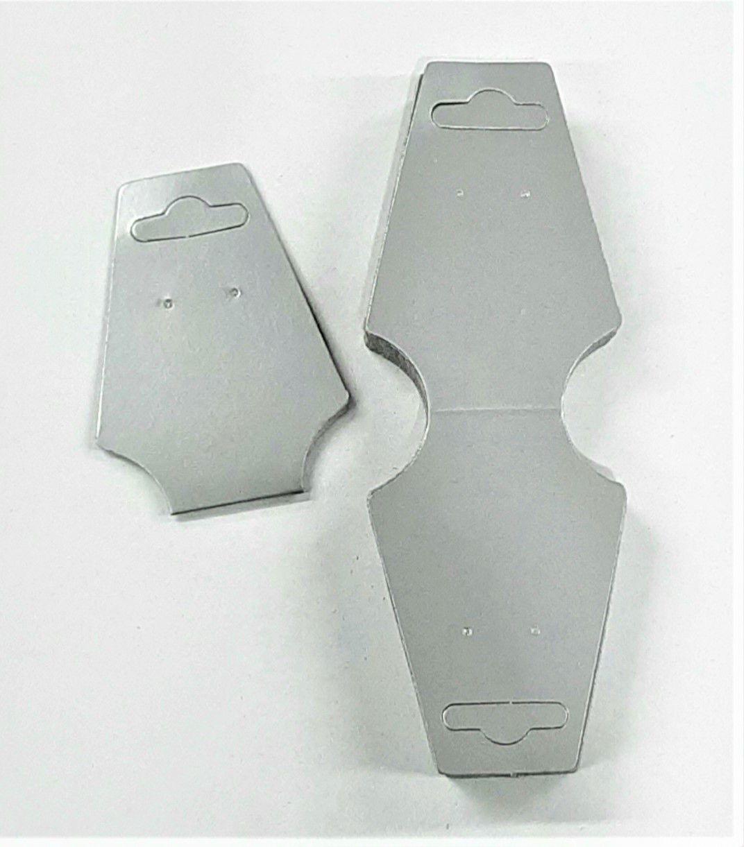 Cartela D19 Prata com 100 Unidades