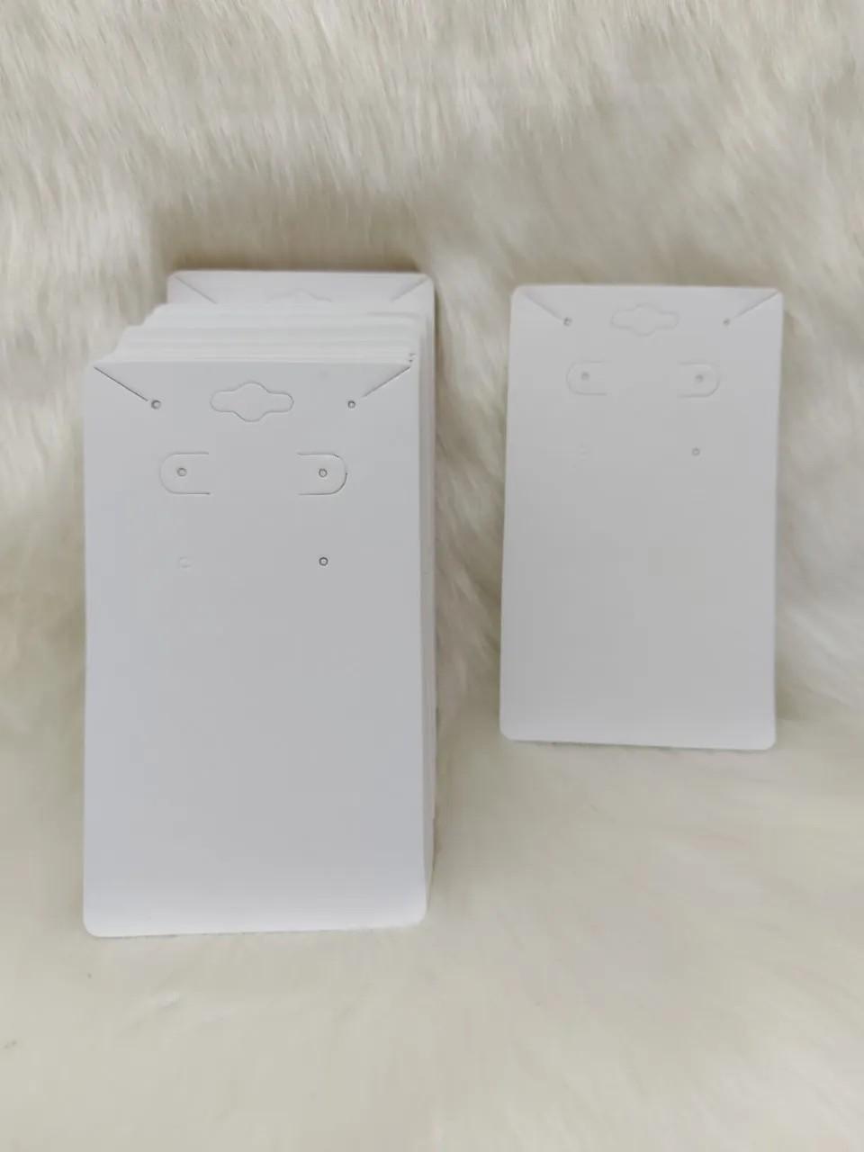 Cartela D20 Branca 7x12 com 1000 unidades