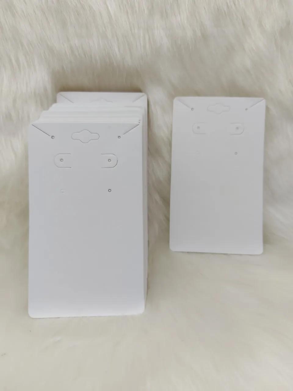 Cartela D20 Branca 7x12 com 100 unidades