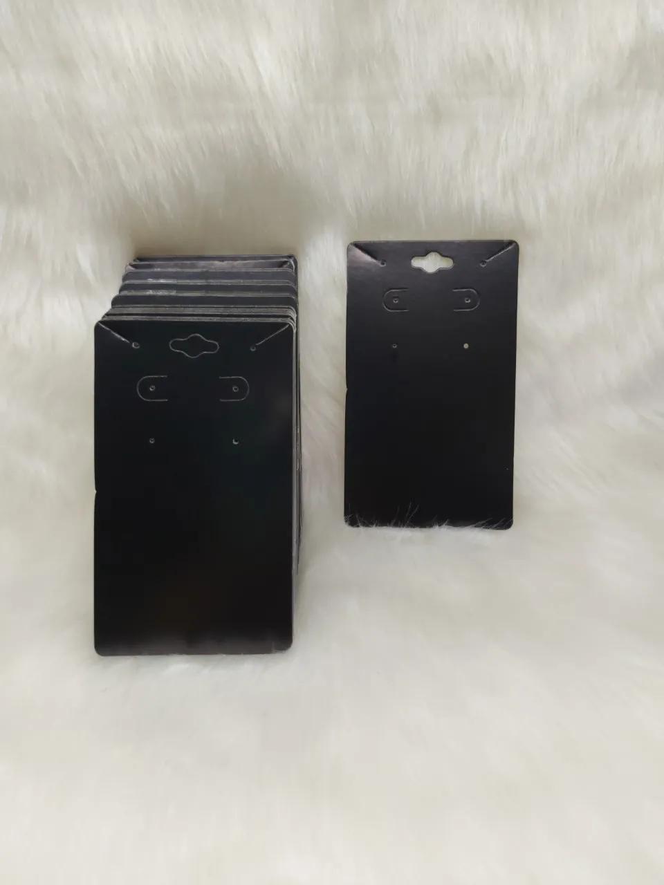 Cartela D20 Preta 7x12 com 100 unidades