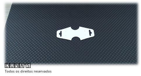 Cartela D22 Branca 3x8 com 100 unidades (cartela para brinco/colar/pulseira)