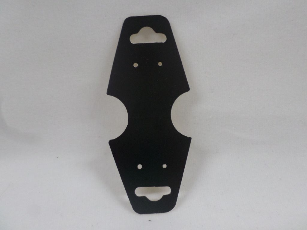 Cartela D22 Preta 3x8 com 1000 unidades (cartela para brinco/colar/pulseira)