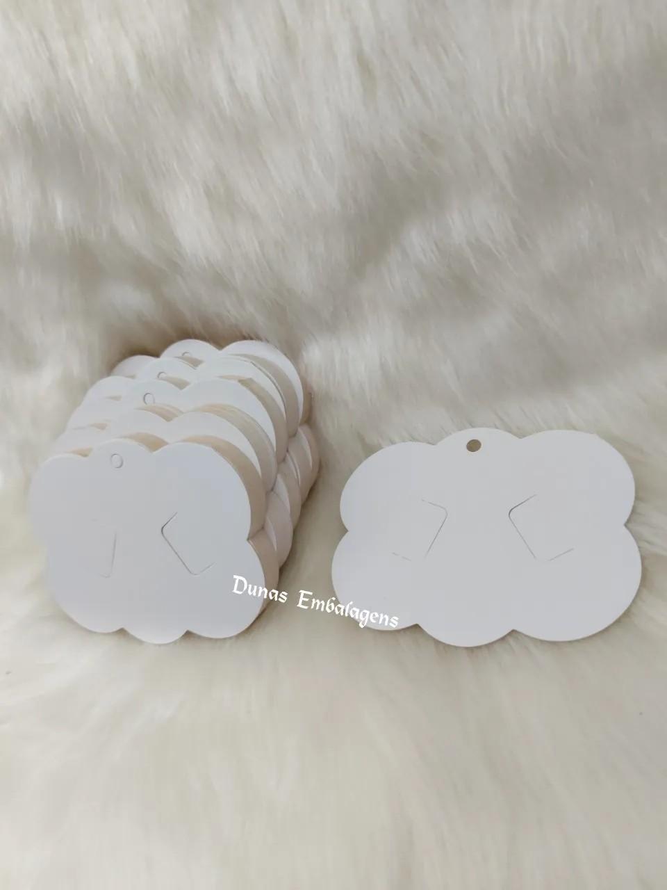 Cartela Nuvem para Laço pacote com 100 unidades D10