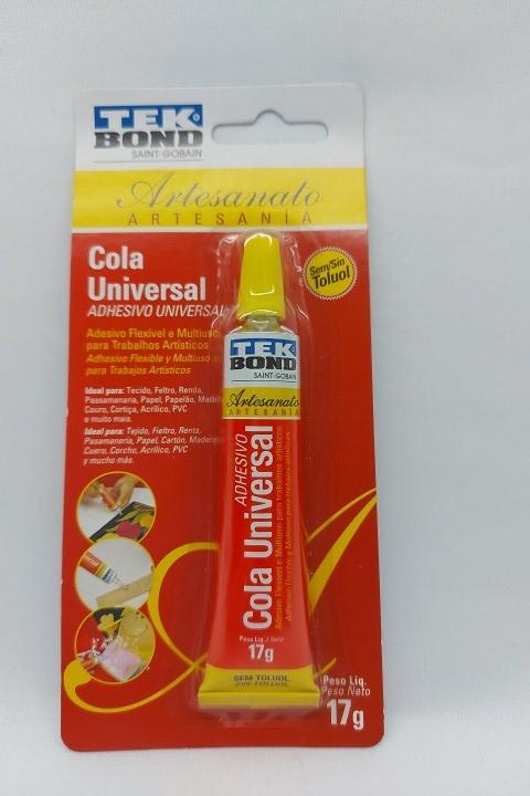 Cola Tek Bond Artesanato ( Cola Universal ) 17g