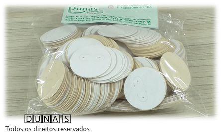 Etiqueta de Papel para Brinco redonda ( pacote com 500 unidades )