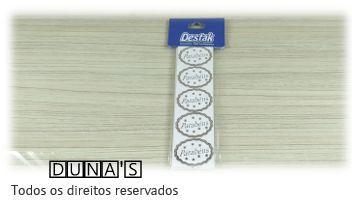 Etiqueta ( PARABÉNS ) Prata pacote c/100 unidades