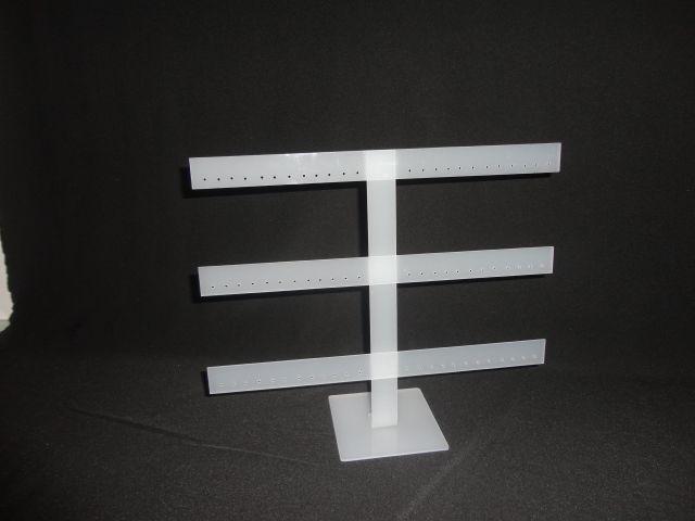 Expositor Acrílico Fosco ( antena ) 33x10x27 - 36 pares