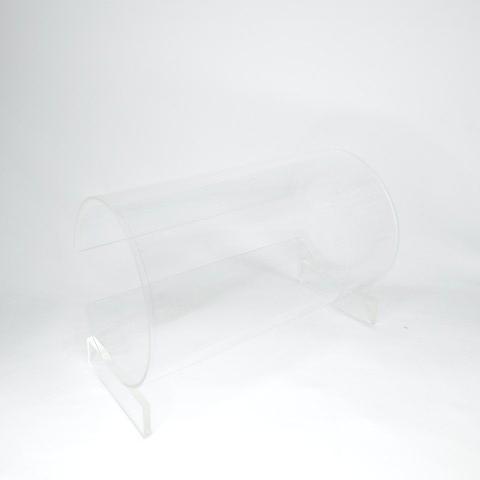 Expositor Acrilico Tiara Transparente 24x16x14