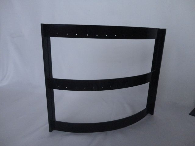 Expositor Barril acrílico preto (14 pares )