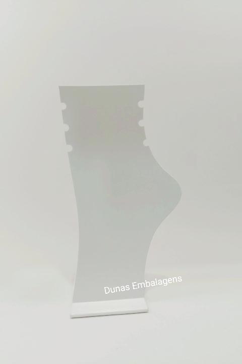 EXPOSITOR DE ACRÍLICO PARA TORNOZELEIRA - FOSCO