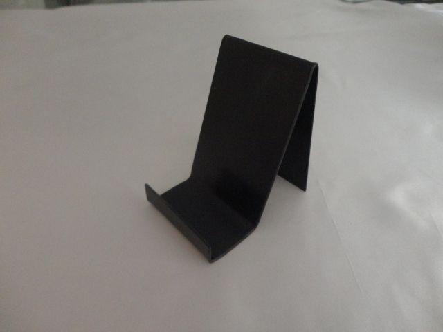 Expositor de acrílico preto para Livro/Celular 6x10