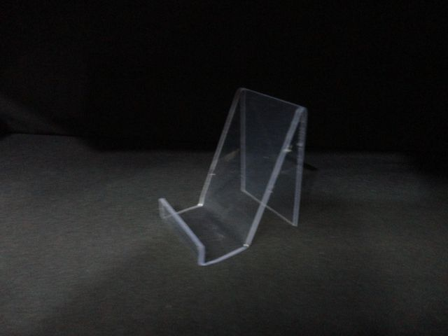 Expositor de acrílico transparente para Livro/Celular 6x10