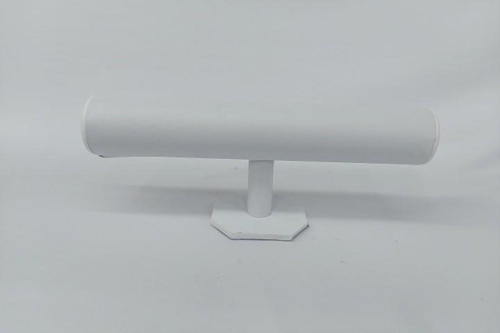 Expositor de Pulseira  Napa Branco 30x08x12