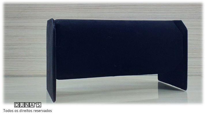 Expositor de Tiara Preto ( veludo ) 28x13x15