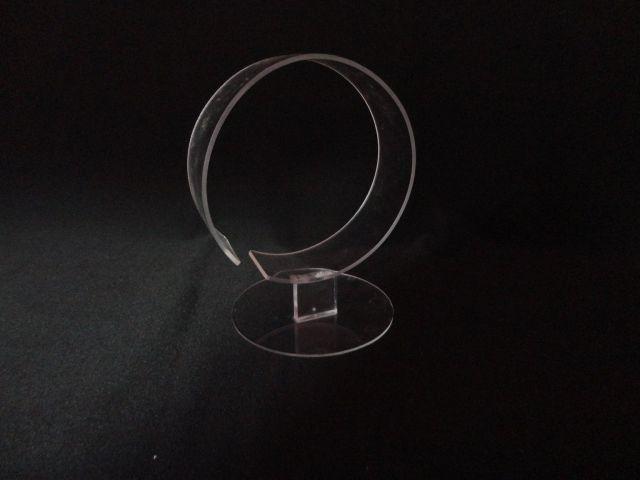 Expositor de Tiara Unitário Transparente 13x15x11