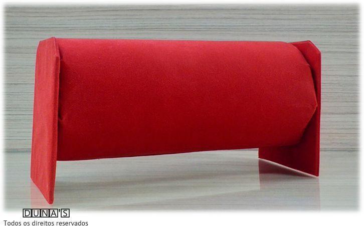 Expositor de Tiara Vermelho (tnt) 28x13x15