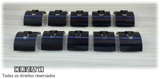 Expositor individual para Anel ( Ratinho ) Preto - pacote com 10 unidades 2.5x3