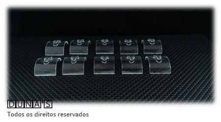 Expositor individual para Anel ( Ratinho ) Transparente - pacote com 10 unidades 2.5x3