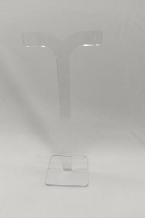 Expositor T brinco individual Grd Transparente 14x6x4