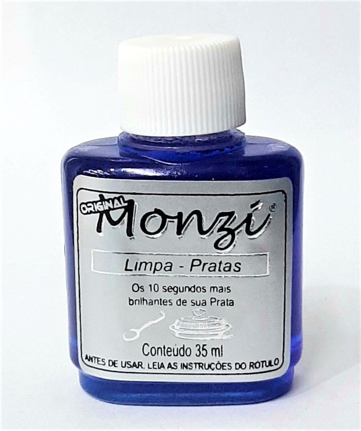 Limpa Jóias Monzi Prata ( 35ml )