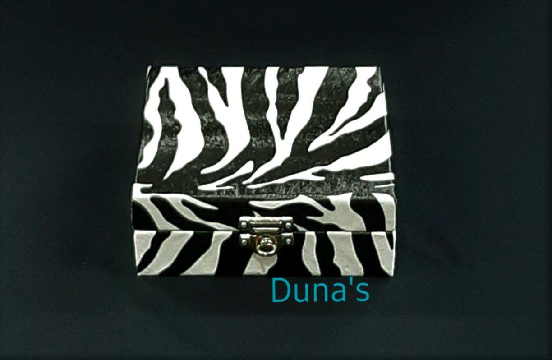 Maleta para Bijuterias Mini Zebra