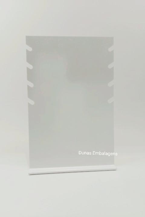 PLACA -4 RECORTES -ACRILICO-LEITOSA- COLAR
