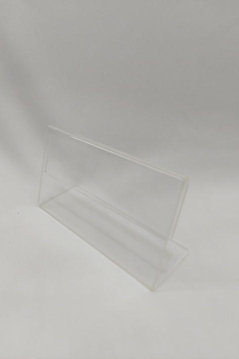 Placa Acrílico Transparente para Preço 9x5.6x3