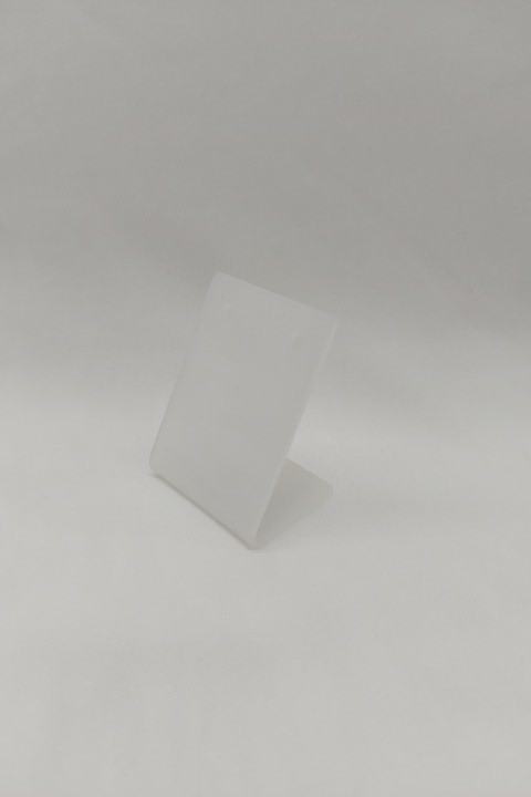 Placa de Acrílico para Brinco Individual Fosco mini 4x5