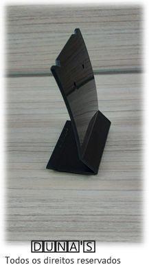 Placa de Acrílico para Brinco Individual Preto ( recorte ) M 6x8x4