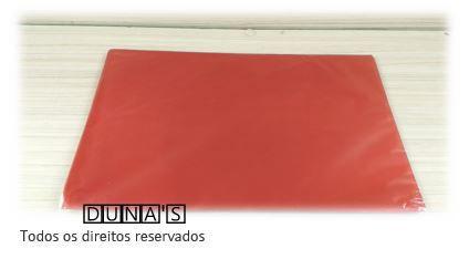 Saco de Presente VERMELHO 20x29 pacote c/ 50 unidades