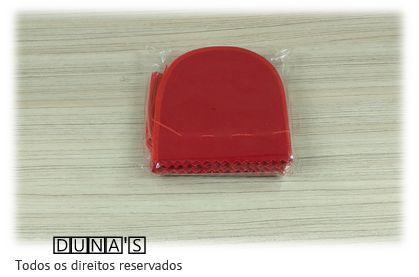 Saco de Veludo VERMELHO ( 8X8 - área útil ) PCT C/10 UNIDADES