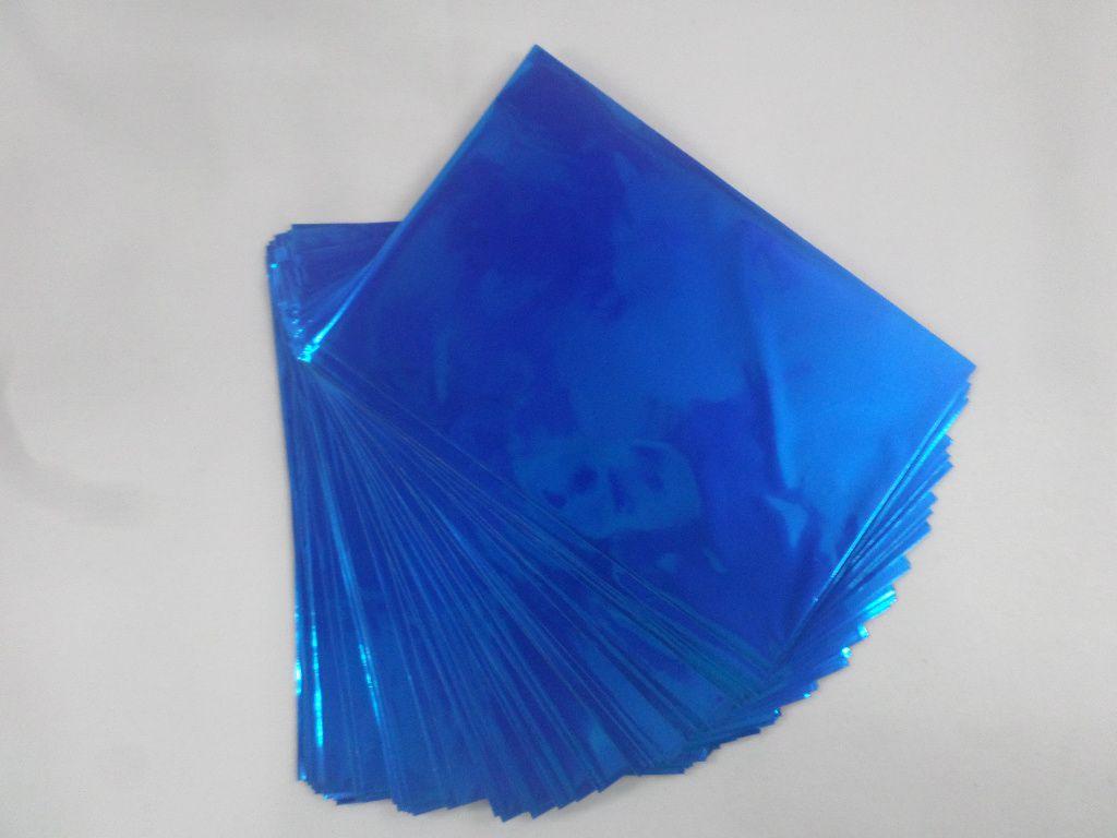 Saco Presente 10X15 AZUL LISO (pacote com 100 unidades)