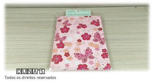 Saco Presente 15x20 BORBOLETAS FLORES PINK (pacote com 100 unidades)