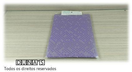 Saco Presente 15x20 Lilás poá (pacote com 100 unidades)