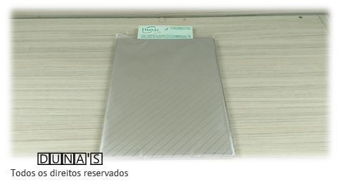 Saco Presente 15x20 PRATA RISCO  (pacote com 100 unidades)