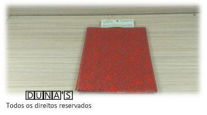 Saco Presente 15x20 VERMELHO ARABESCO (pacote com 100 unidades)