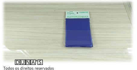 Saco Presente Adesivado 8x8 AZUL LISO (pacote com 100 unidades)