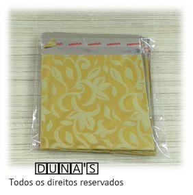 Saco Presente Adesivado 8x8 DOURADO ARABESCO (pacote com 100 unidades)