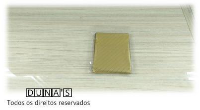 Saco Presente Adesivado 8x8 DOURADO RISCO (pacote com 100 unidades)
