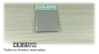 Saco Presente Adesivado 8x8 PRATA RISCO (pacote com 100 unidades)