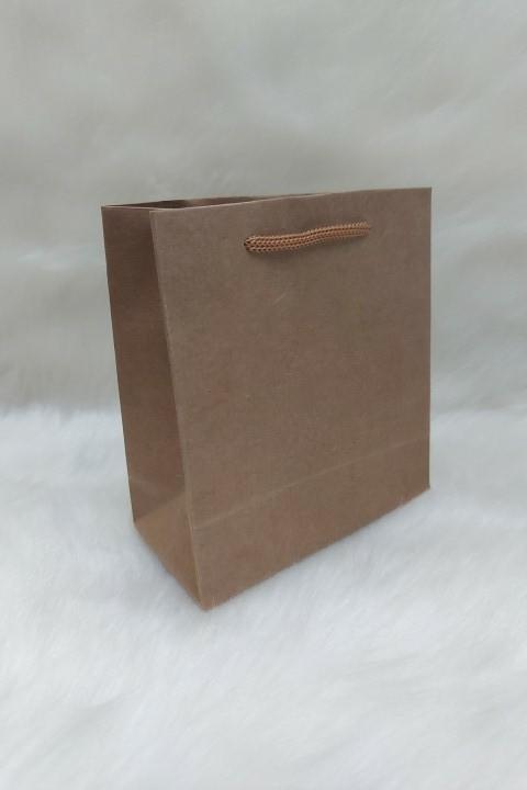 Sacola de Papel CRAFT 13x13x6 ( pacote com 10 unidades )