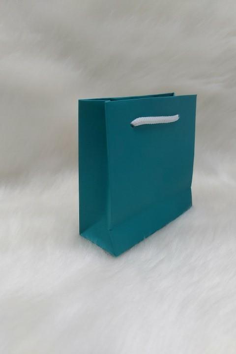 Sacola de Papel TIFANY - 10x10x5 ( pacotes com 10 unidades )