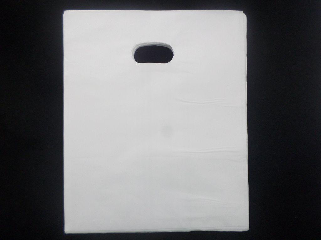 Sacola Plástica ( Branca) 21x25 pacote com 100 unidades