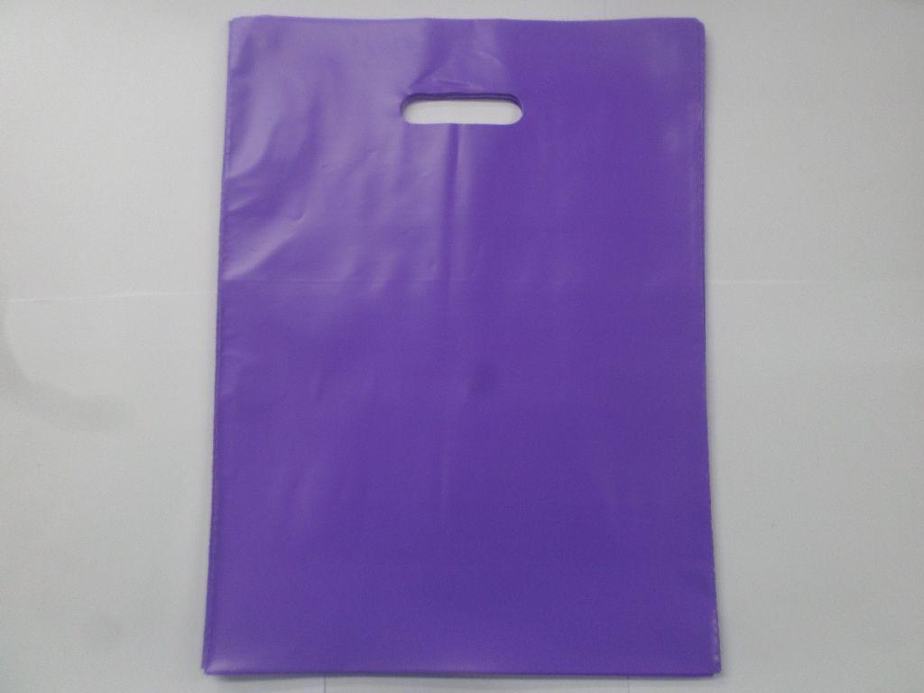 Sacola Plástica LILÁS 30x40 ( pacote com 25 unidades )