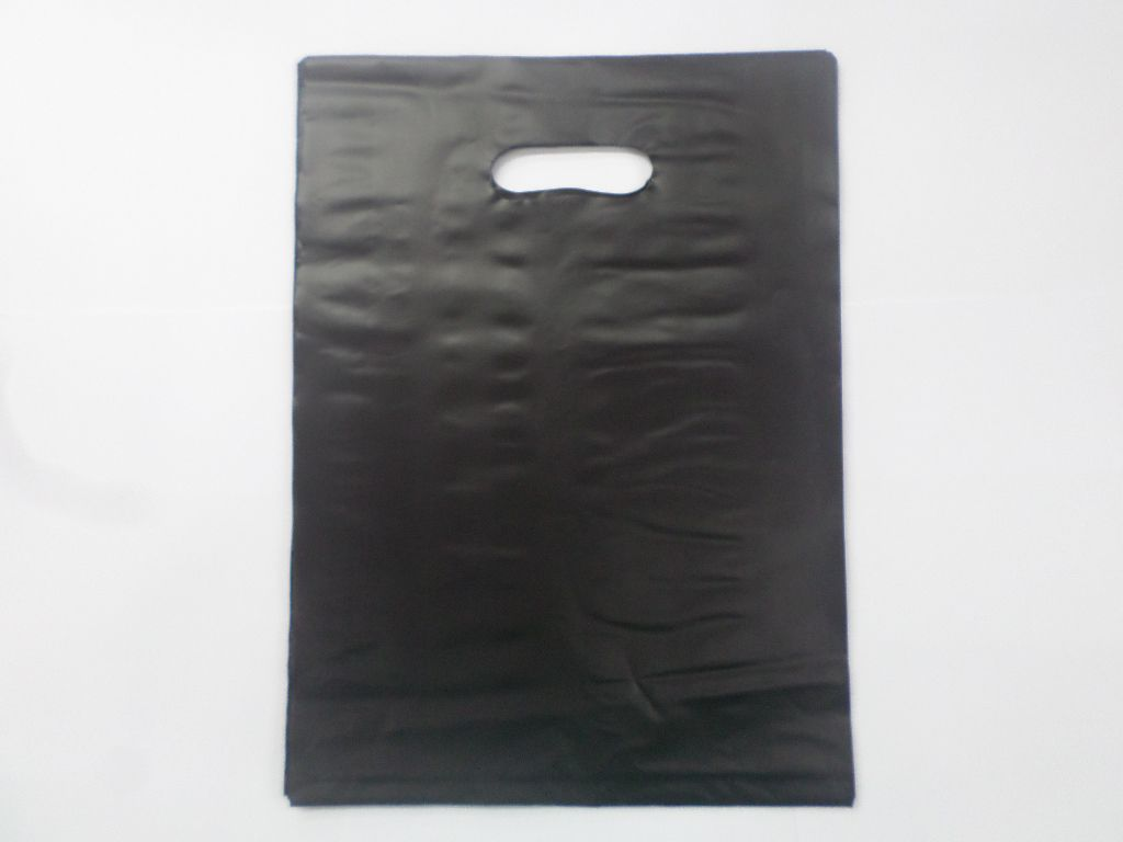 Sacola Plástica Preta 30x40 ( pacote com 25 unidades )